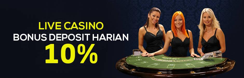 bonus casino Sbobet online
