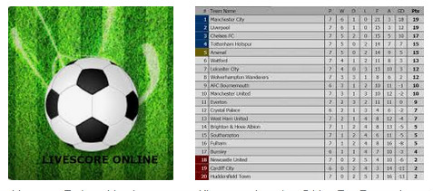 Livescores judi bola Liga Inggris Sbobet